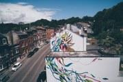 Les rues et façades de la ville continuent d'embellir et de s'égayer